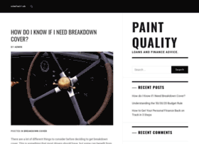 Paintquality.co.uk