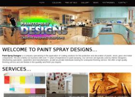 paintspraydesigns.com