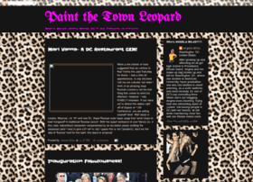 paintthetownleopard.blogspot.com