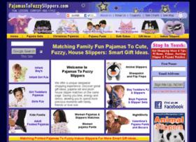 pajamastofuzzyslippers.com