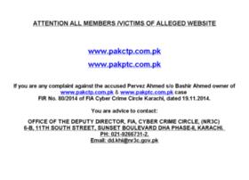 pakctp.com.pk
