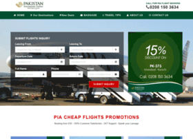 pakistanairline.co.uk