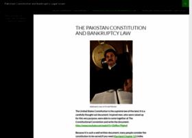 pakistanconstitution-law.org