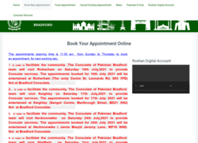 pakistanconsulatebradford.com