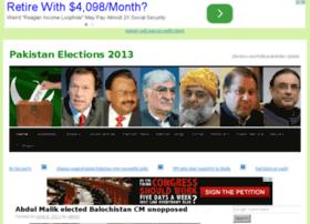 pakistanelections2013.com