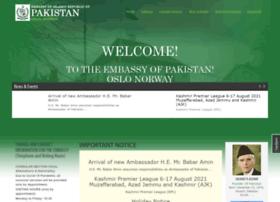 pakistanembassy.no