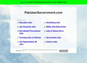 pakistangovernment.com