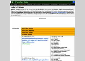 pakistanjobsbank.com