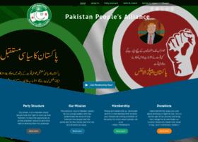 pakistanpeoplealliance.com