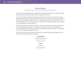 palabraselegidas.com