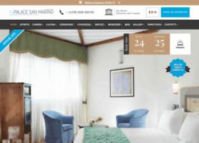 palacehotelsanmarino.com