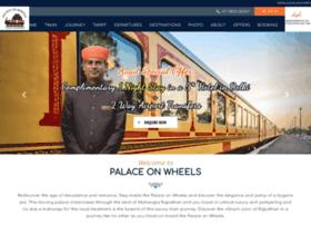palacesonwheels.com