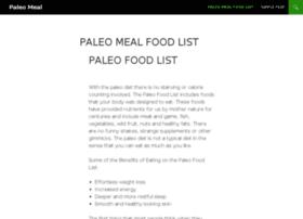 paleo-meal.com