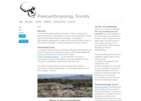 paleoanthro.org