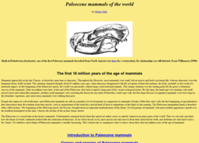paleocene-mammals.de
