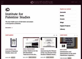 palestine-studies.org