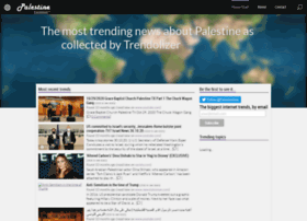 palestine.trendolizer.com
