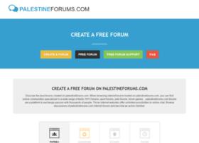 palestineforums.com