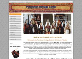 palestinianheritagecenter.com