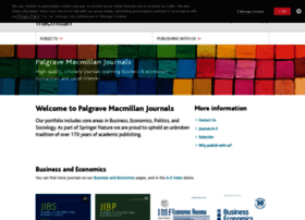 palgrave-journals.com