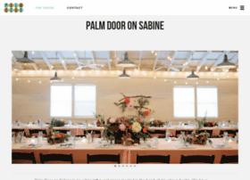 palmdooronsabine.com