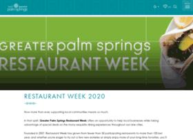 palmspringsrestaurantweek.com