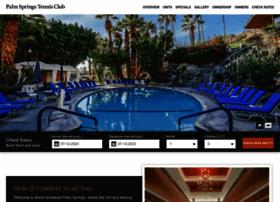 palmspringstennisclub.net