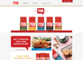 pamcookingspray.com