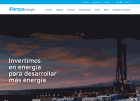 pampaenergia.com