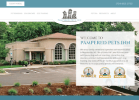pamperedpetsinn.com