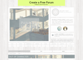 panacea-academy.boards.net