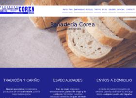 panaderiacorea.com