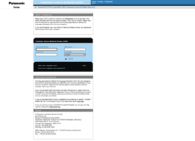 panasonic-europe-service.com