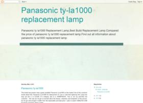 panasonic-ty-la1000-replacement-lamp.blogspot.com