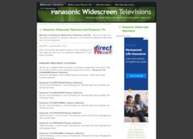 panasonictvs.widescreentelevisions.co.uk