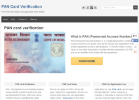 pancardverification.in