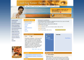 panditrajkumarsharma.com