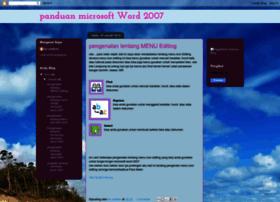 panduanmicrosoftword2007.blogspot.com