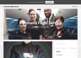 panoramaflightservice.com