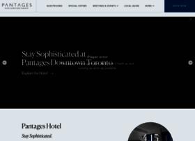 pantageshotel.com