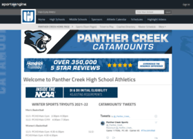 panthercreekathletics.com