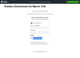 pantherenrichmentmarch11th2015.sched.org