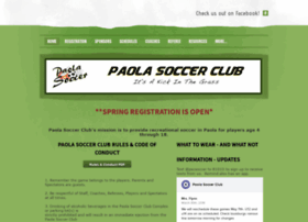 paolasoccer.org