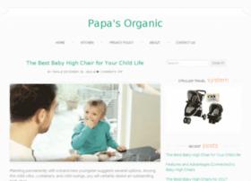papasorganic.com
