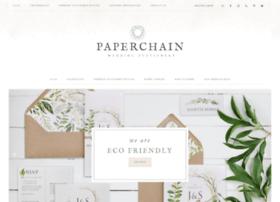 paperchainweddingstationery.co.uk