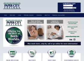 papercitysavings.com