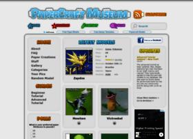 Papercraftmuseum.com