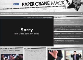 papercranemagic.com
