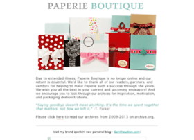 paperieboutique.com
