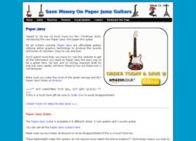 paperjamz-guitar.co.uk